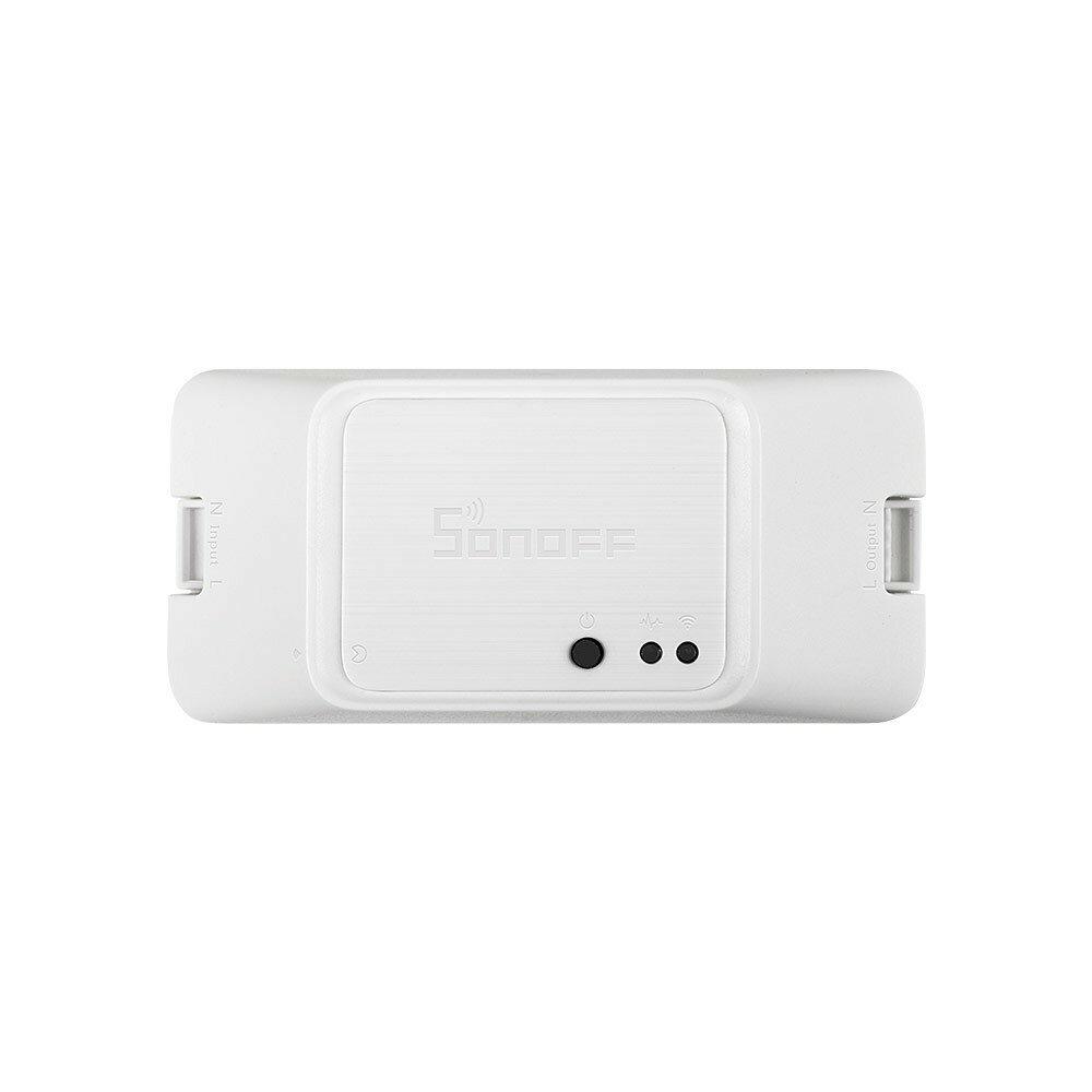 SONOFF® RF R3 ON / OFF WIFI Nirkabel Cerdas RF Switch Timer Mendukung Mode DIY 10A 2200W AC100-240V APP / 433 RF / LAN / Suara Remote Control RFR3 Bekerja dengan Amazon Alexa Asisten Sarang Rumah Google Google IFTTT