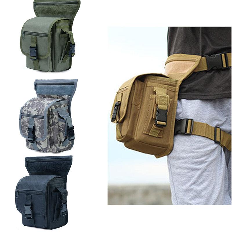 Outdoor Tactical Men Waist Leg Bag Waterproof Hip Drop Belt Pack Pouch Camping Hiking