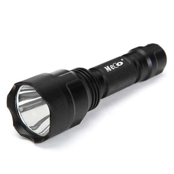 MECO C8  T6 1300lumens 5 Modes LED Flashlight 18650