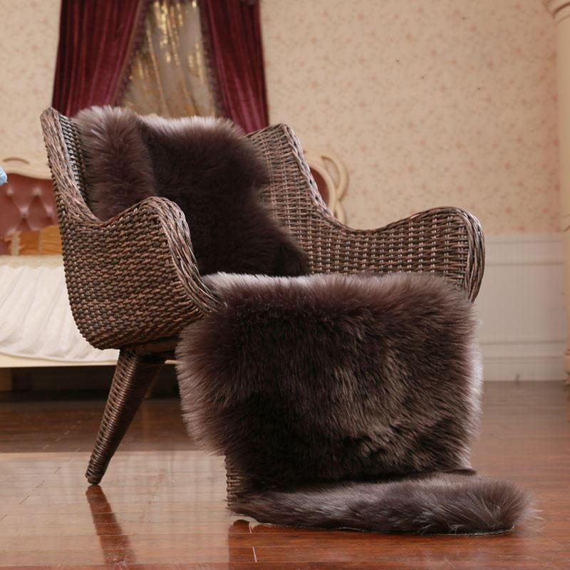 Honana WX-574 Thảm len giả Trang chủ Thảm lông cho phòng trẻ em Phòng khách Thảm lông ấm