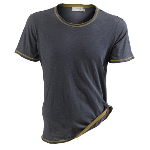 JOZSI Mens Outdoor Sport Breathable Quick-dry Tees Round Neck Casual Light Thin Short Sleeve T-shirt
