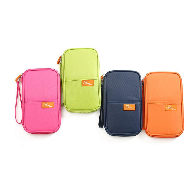 e3eff374788f Travel Waterproof Card Bag Fashion Holder Card Pack Wallet Organizer Pocket  Passport Documents Bag