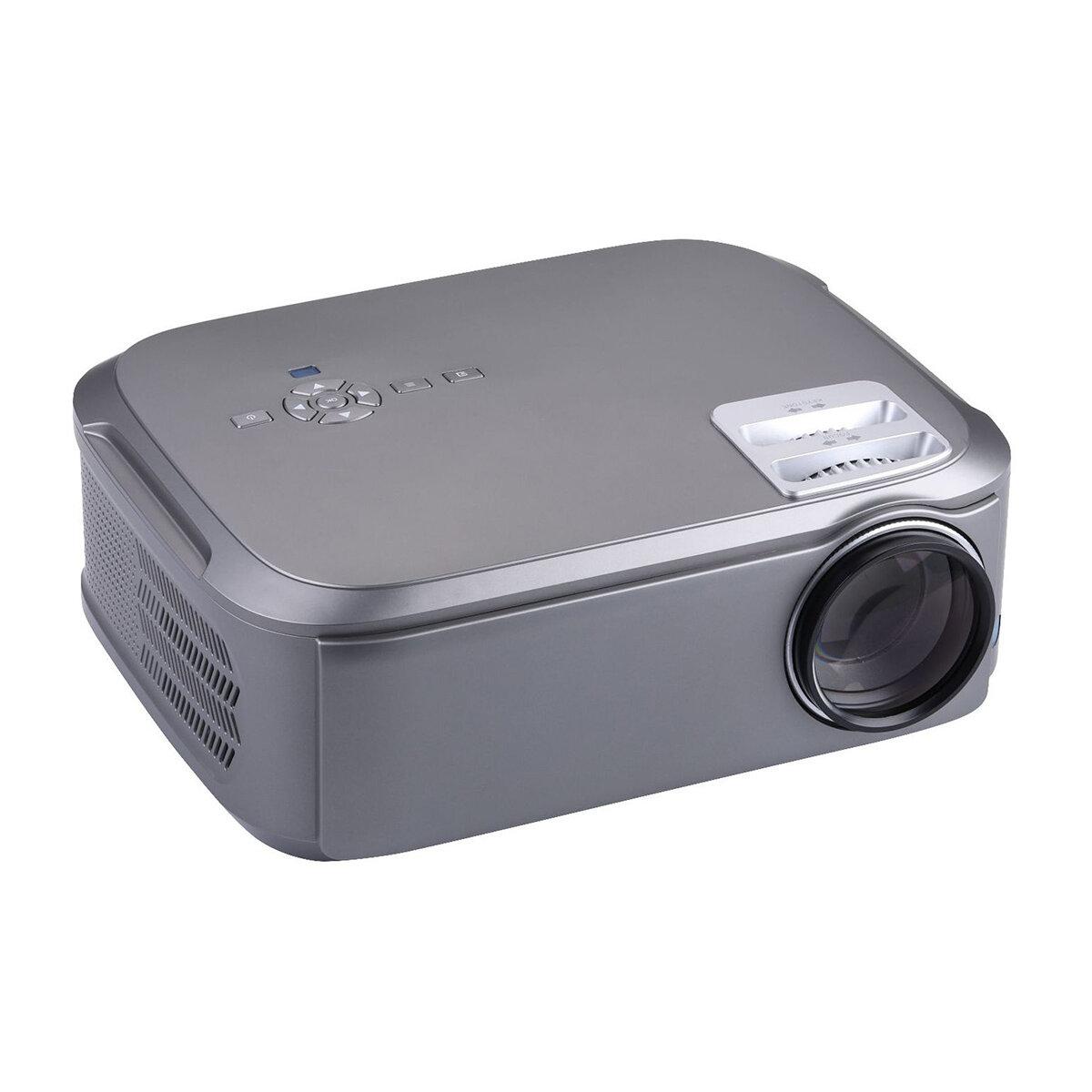 UHAPPY U76 LCD Mini Projector 1920x1080dpi 1080P HD 3500 Lumens LED Projector Home Mini Theater HDMI USB AV VGA Android System