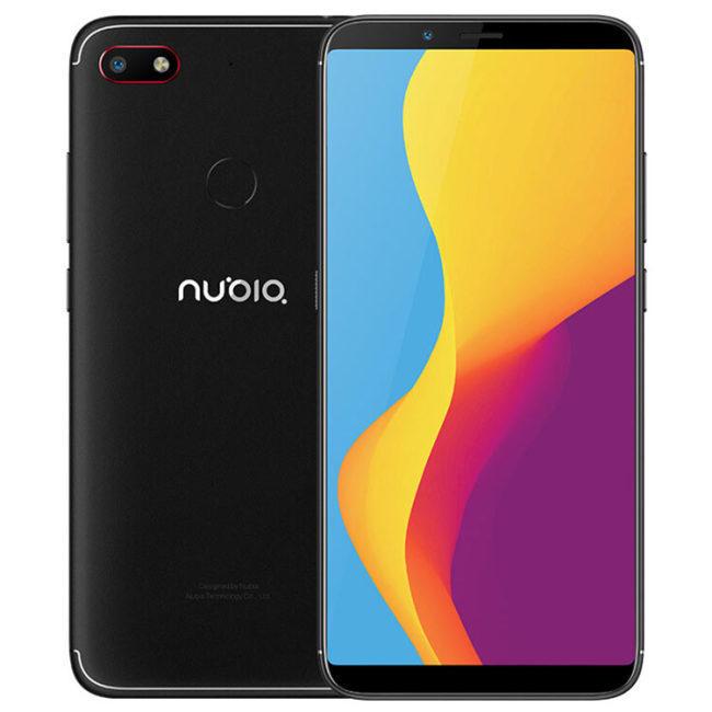 ZTE Nubia V18 Global Version 6.01 Inch FHD+ 18:9 Full Screen 4000mAh 4GB RAM 64GB ROM Snapdragon 625 2.0GHz Octa Core 4G Smartphone