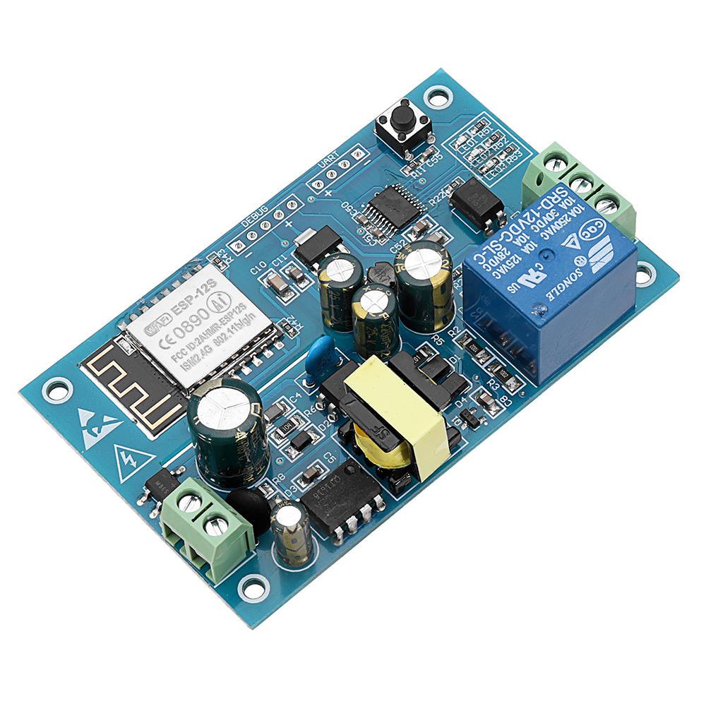 AC 220V ESP8266 WIFI Relay Module IOT Smart Home Cellphone APP Remote  Control Switch