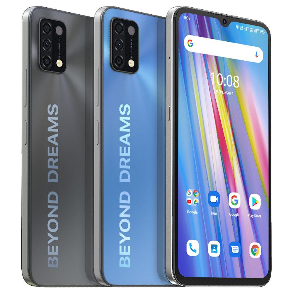 "UMIDIGI A11 Global Version Android 11 Helio G25 5150mAh 4GB 128GB 16MPAIトリプルカメラ6.53 ""HD +スマートフォン"