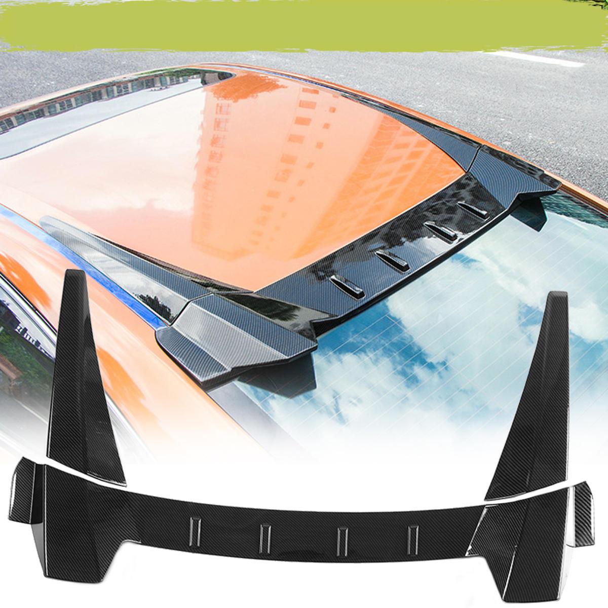 For 2016-2018 Honda Civic 4DR//Sedan TYPE-R Unpainted Black Trunk Spoiler Wing