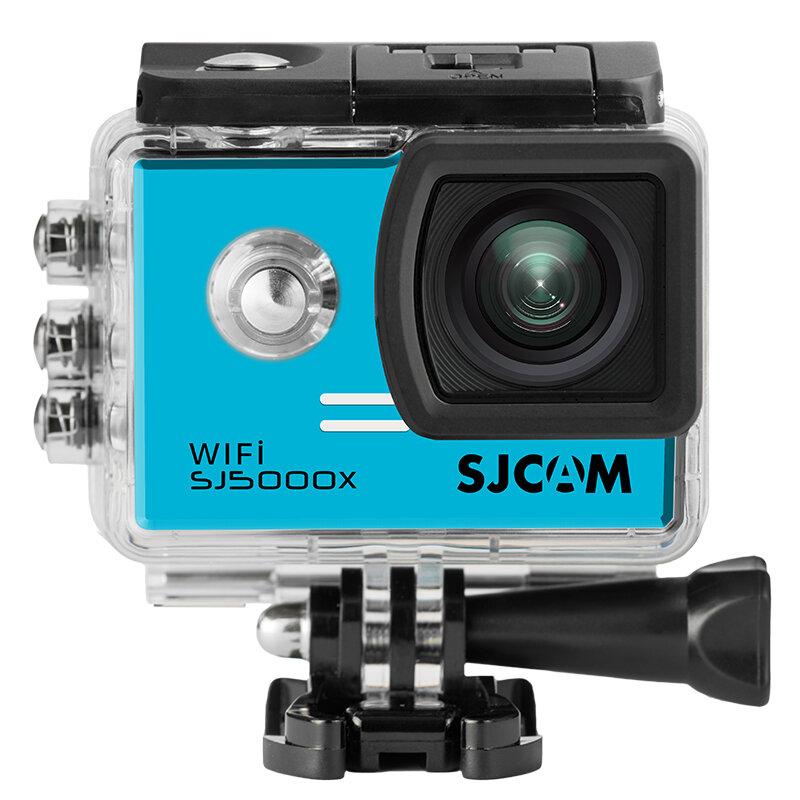 SJcam SJ5000X Wifi Экшн-Камера ELITE 4K24 2K 2,0-дюймовый ЖК-дисплей  Новатэк с аксессуарами