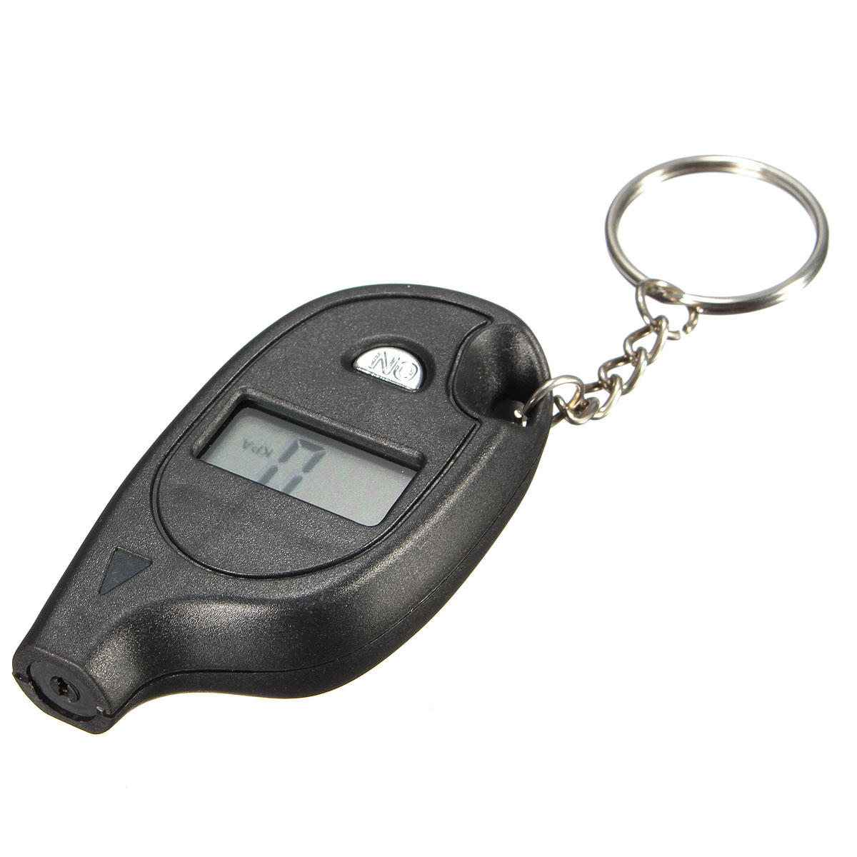 Digital Lcd Tire Car Tyre Air Pressure Gauge Keychain For Auto Car Motorcycle
