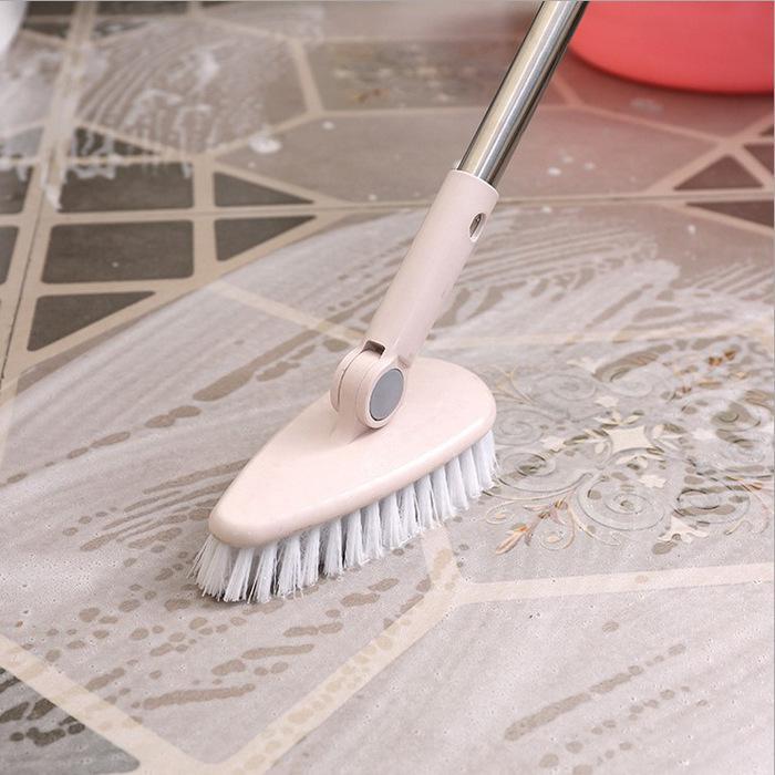 Bathroom Floor Cleaning Brush Bathtub Outdoor Hard Hair Long Handle Tiles Brushes