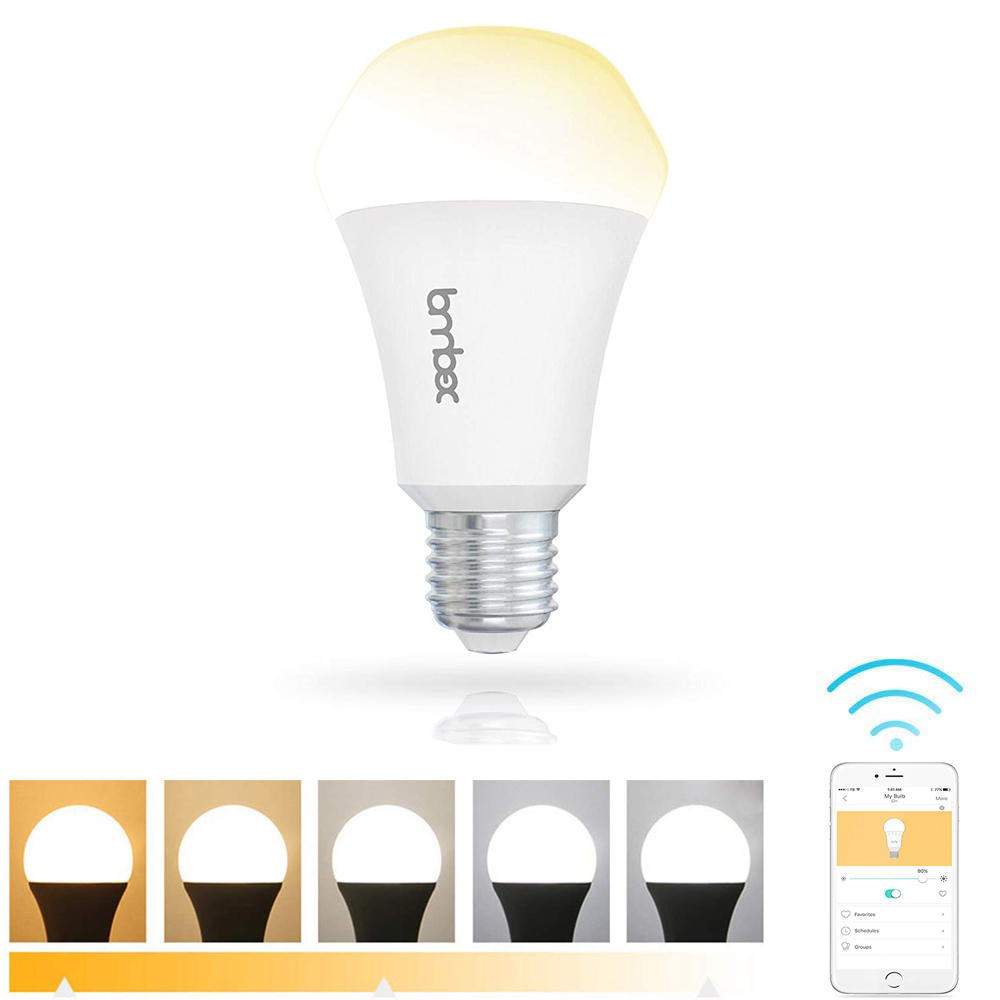 lombex e27 10w dimmable warm white to daylight wifi app control ...