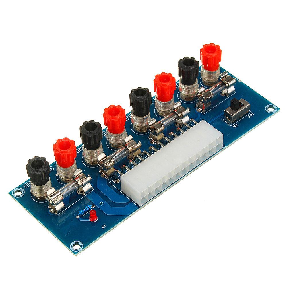 Módulo de fuente de alimentación del chasis de la computadora de escritorio Geekcreit® XH-M229 Tarjeta de transferencia ATX Módulo de terminal de salida de alimentación