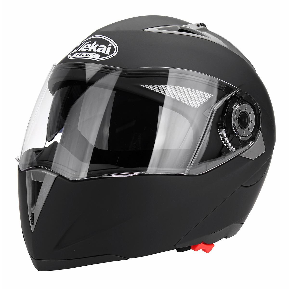 Dirt Bike Helmet With Visor >> Motorcycle Open Face Helmet Dual Visor Flip Up Adult Full Face Motocross Dirt Bike M L Xl