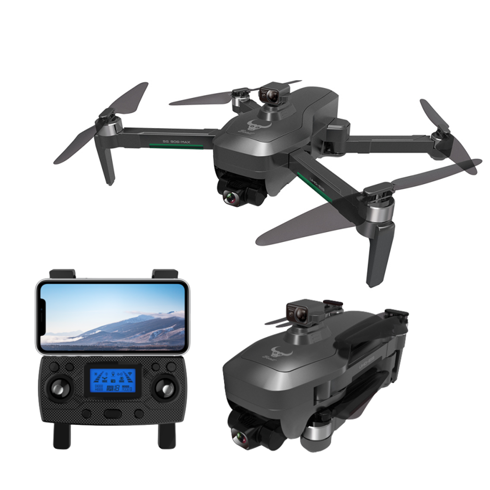ZLL SG906 MAX GPS 5G WIFI FPV With 4K HD Camera 3-Axis Anti-shake Gimbal Obstacle Avoidance Brushless Foldable RC Drone