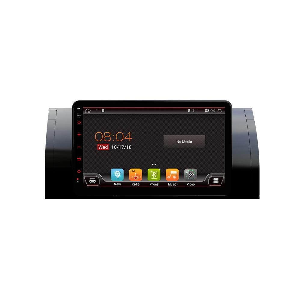 पीएक्स 6 8.0 इंच 2 डीआईएन 4 + 64 जी एंड्रॉइड 9.0 कार एमपी 5 प्लेयर 6 कोर टच स्क्रीन ब्लूटूथ रेडियो GPS केरीमा बी