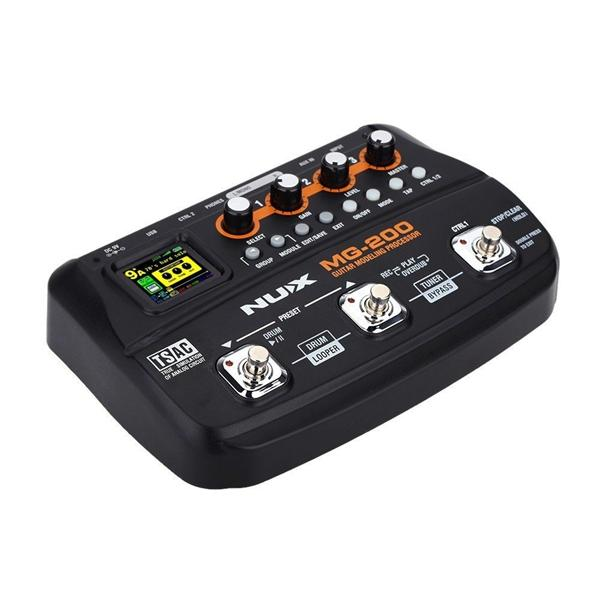 NUX MG-200 Professional Guitar Modeling  Multi-effects Processor