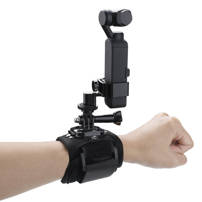 Osmo Pocket Gimbal Accessories Wrist Palm Strap Fixed Mount Adapter For GoPro Camera DJI Gimbal