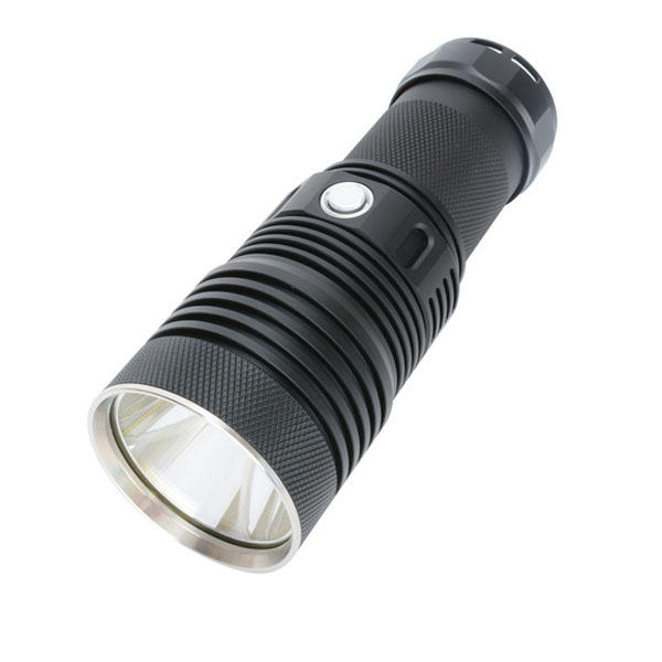 HaikeLite MT07S XHP70.2 New Switch 4500LM NW Super Bright Long Range LED Flashlight 500M - White