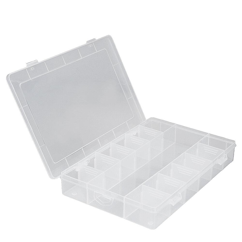 13 Grid Adjustable Electronic Components Project Storage Assortment Box Bead Organizer Jewelry Box Plastic Storage Case