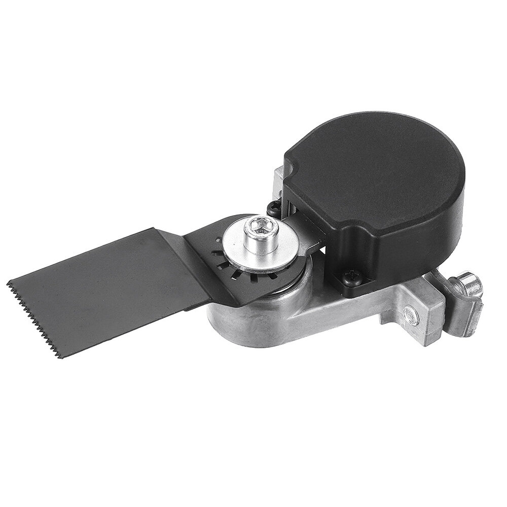 Angle Grinder Attachment Bracket Change into Oscillating Tool Trimming Machine for Wood Metal Cutting Polishing