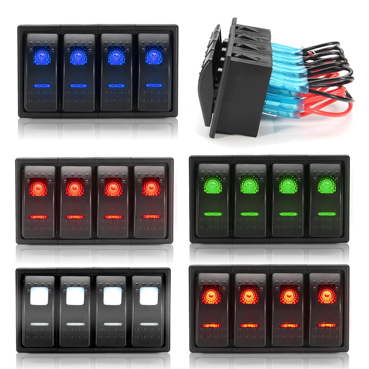 Interior Parts & Accessories Rocker Switch Laser FINGER REAR ...