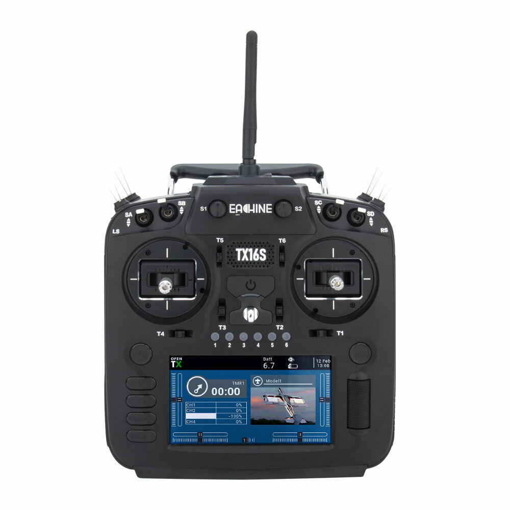 Eachine TX16S Hall Sensor Gimbals 2.4GHz 16CH Internal Multi-protocol RF System OpenTX Radio Transmitter for RC Drone