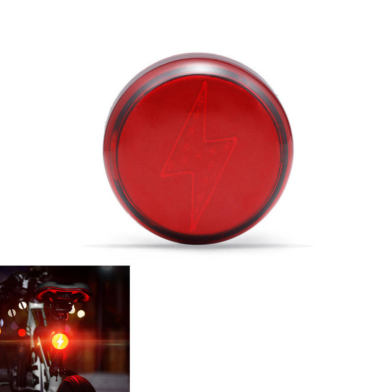 XANES® TL30 COB 120LM Bike Tail Light USB Rechargeable IPX5 Waterproof 5 Modes Bicycle Rear Light Warning Night Light