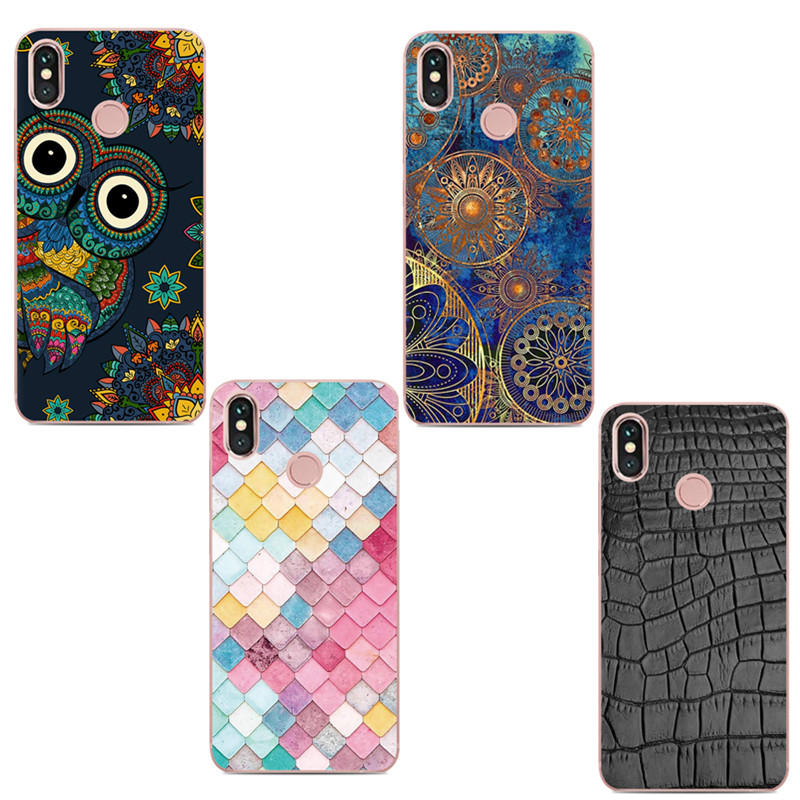 size 40 36b9a 60ce3 Colorful Shockproof Soft TPU Back Cover Protective Case for Xiaomi Redmi  Note 5 / Note 5 Pro