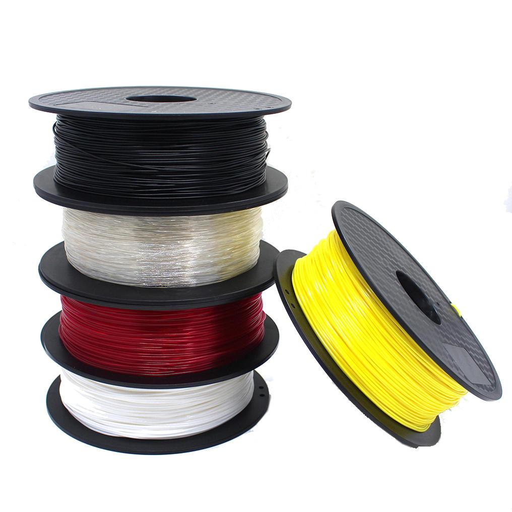 CCTREE® Black/White/Red/Transparent/Yellow 1.75mm 1Kg/Roll TPU Filament for 3D Printer Reprap
