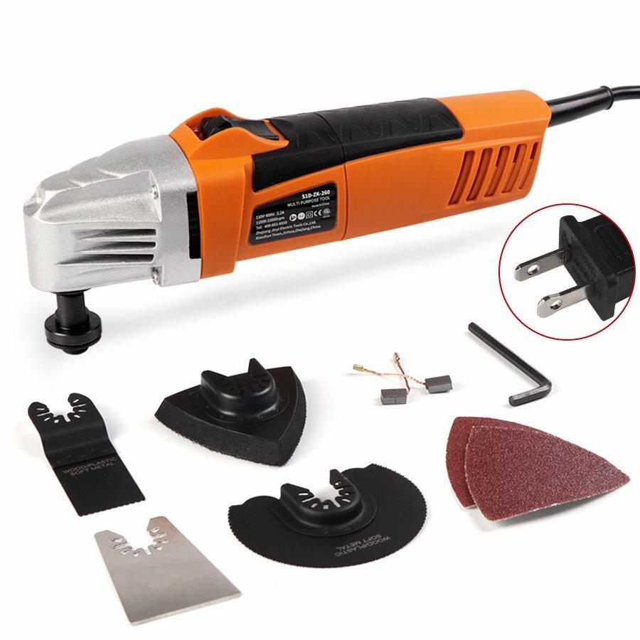 HILDA 110V/230V 260W 11000-22000rpm Trimming Machine Oscillating Multi Saw Oscillating Tools