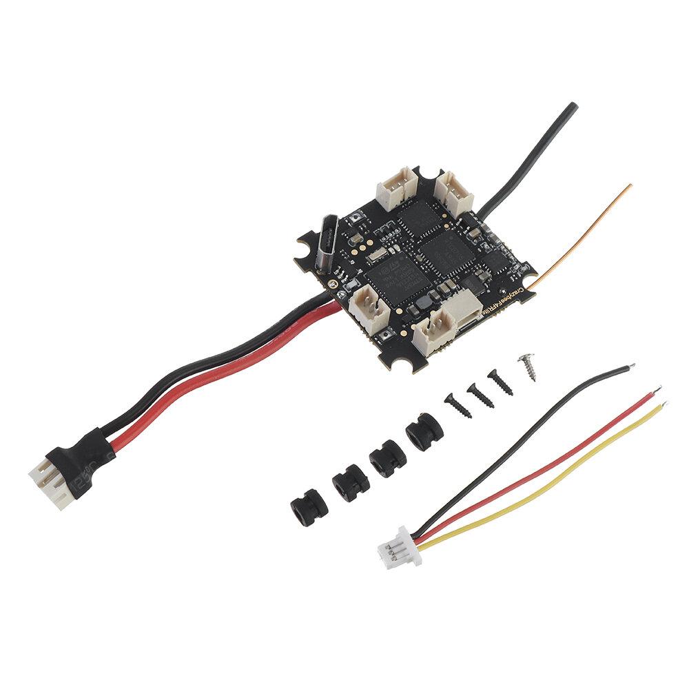 Happymodel Mobula6 Peça de reposição Crazybee F4 Lite 1S Controlador de vôo AIO 5A BLheli_S ESC & Receiver & 40CH 25mW V