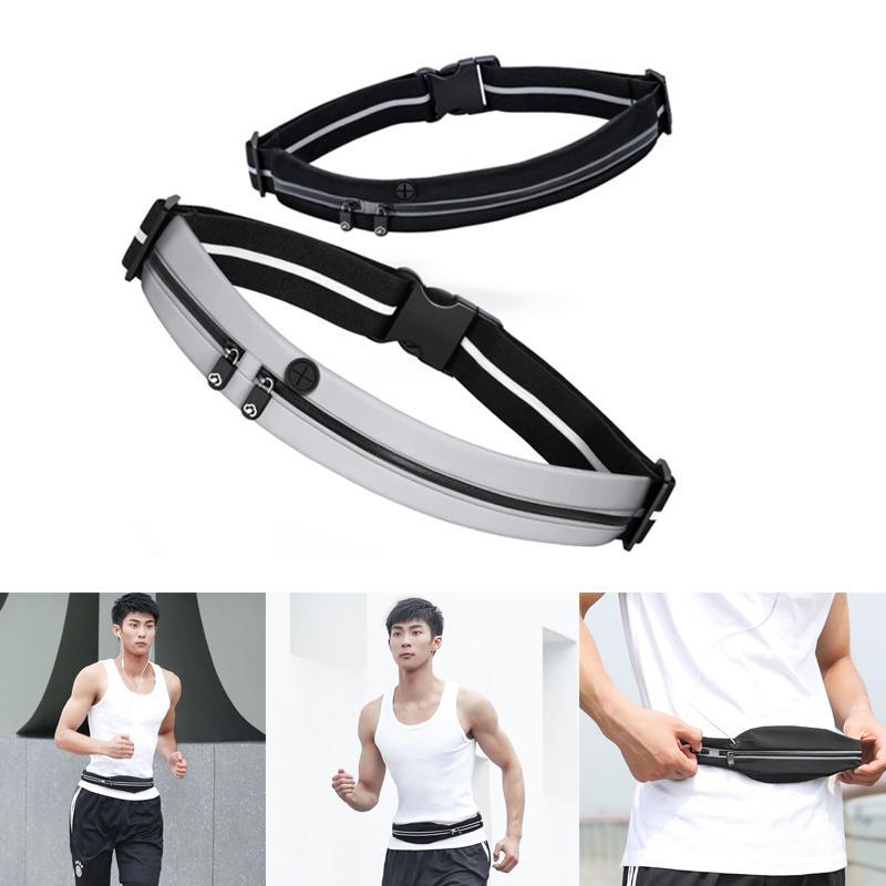 ff3255c02a16 YUNMAI Waterproof Waist Bag Double Pockets Reflective Sport Running Pack  Headphone Belt Pouch from Xiaomi Youpin