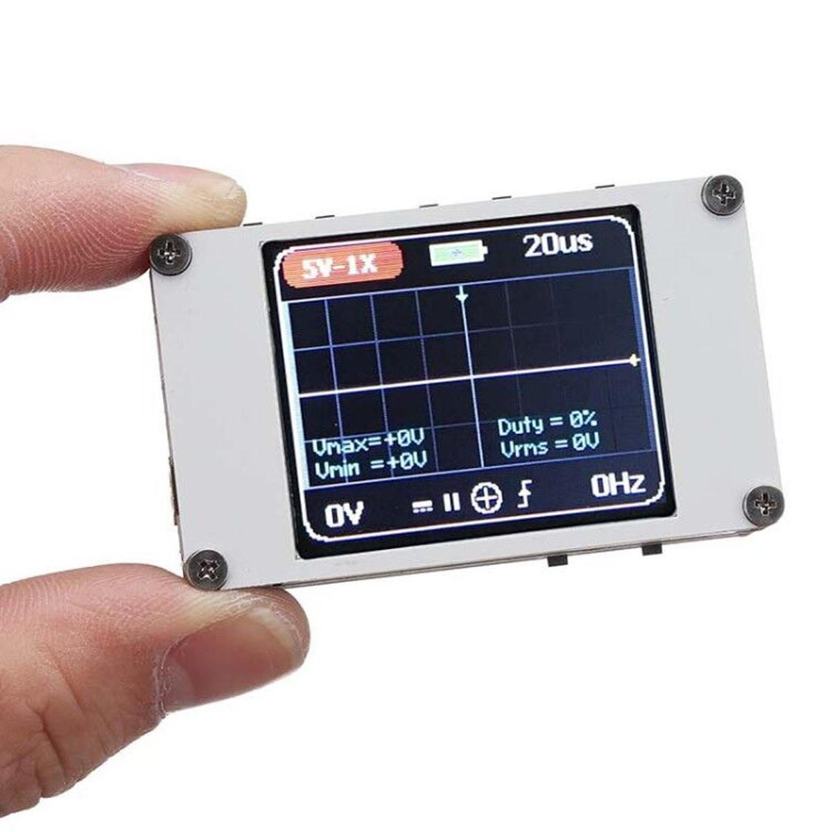DANIU DSO188 Pocket Digital Ultra-small Oscilloscope 1M Bandwidth 5M Sample Rate Handheld Oscilloscope Kit
