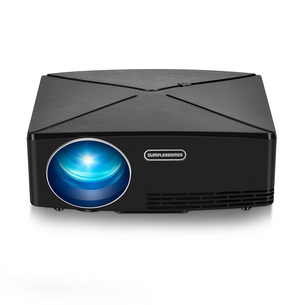 AUN C80 LCD Projector 2200 Lumens 1280x720 Resolution HD VGA USB Office LED Projector Home Theater
