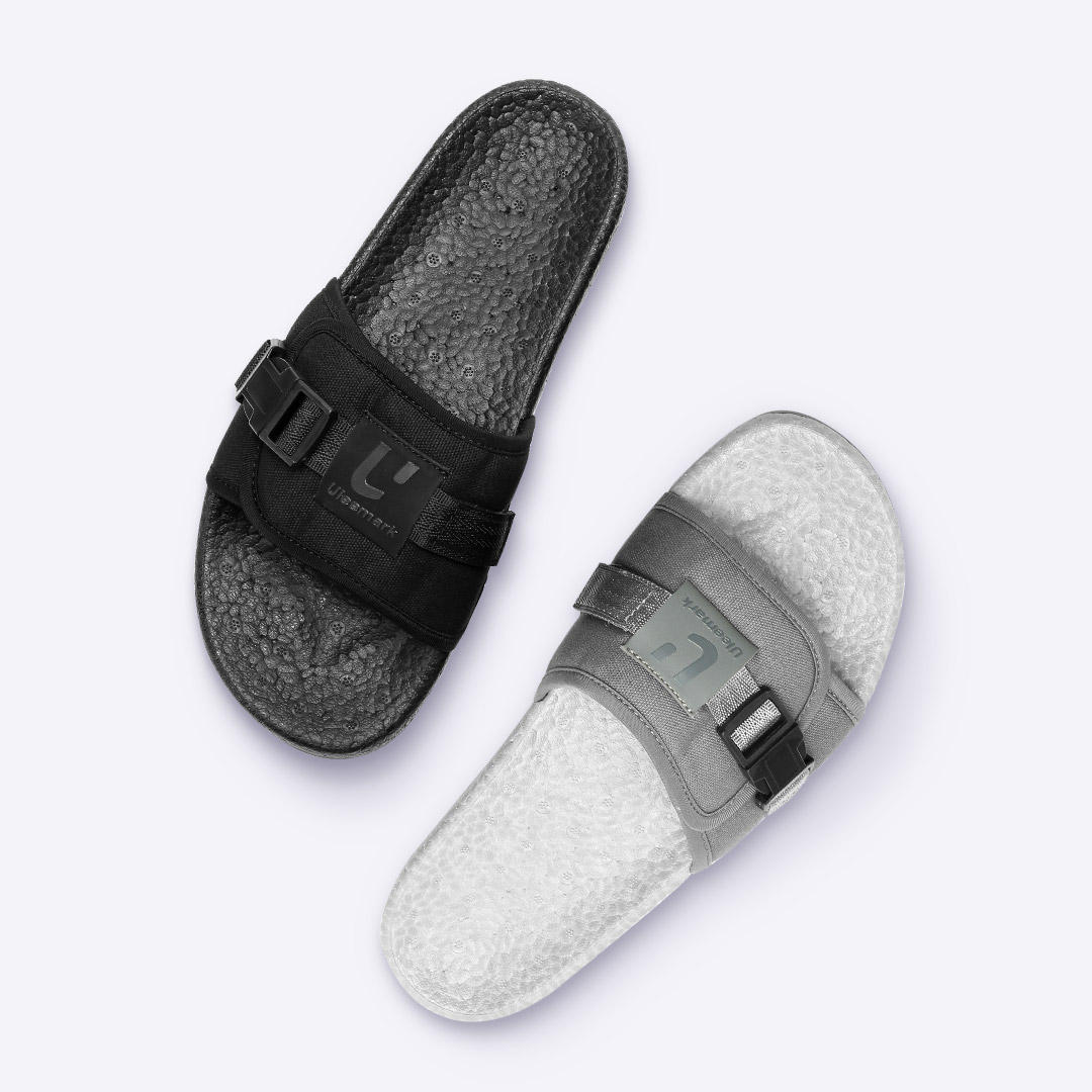 f44045569668c ULEEMARK Popcorn Slippers 2.0 Shock Absorption High Stretch Men Slippers  Non-slip Wear Resistant Beach Casual Slippers From Xiaomi Youpin