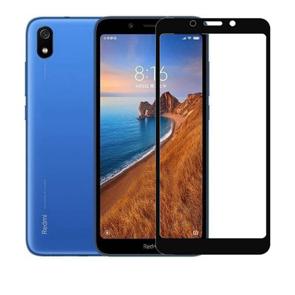 Bakeey 9H Anti-Explosion Full Coverage Tempered Glass Screen Protector for Xiaomi Redmi 7A