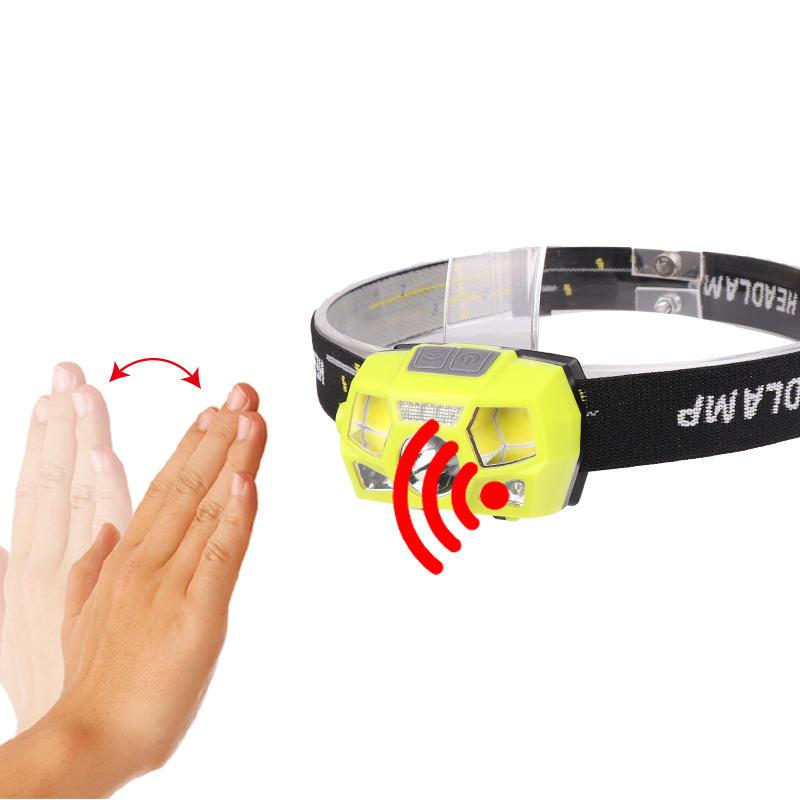 XANES® 1300LM XPE + COB LED Headlamp Antarmuka USB Waterproof Camping Hiking Bersepeda Fishing Light Senter Portabel