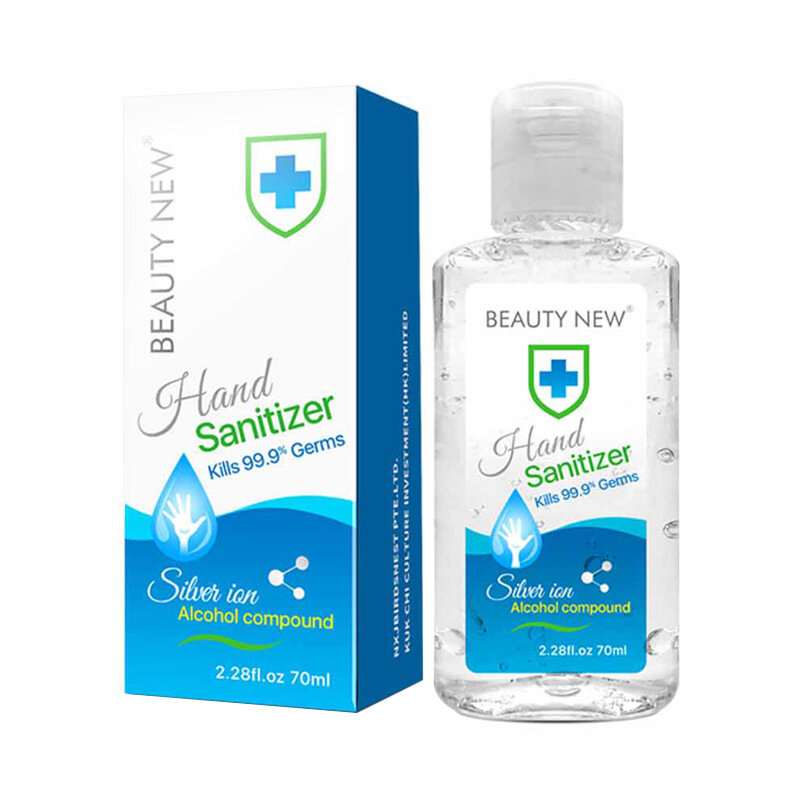 BN ONE 70ml Disinfection Gel Hand Sanitizer Household Disposable Antibacterial Disinfection Ten Seconds Quick-Dry Hand M
