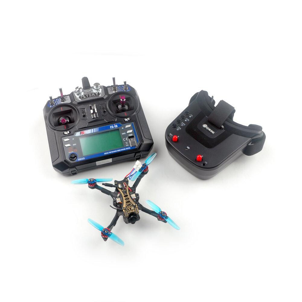 Banggood coupon: Eachine Novice-II V2.0 1-2S 2,5 Palito de dente FPV Racing Drone RTF & Fly more c / Flysky FS-I6 2.4G / WT8 Transm