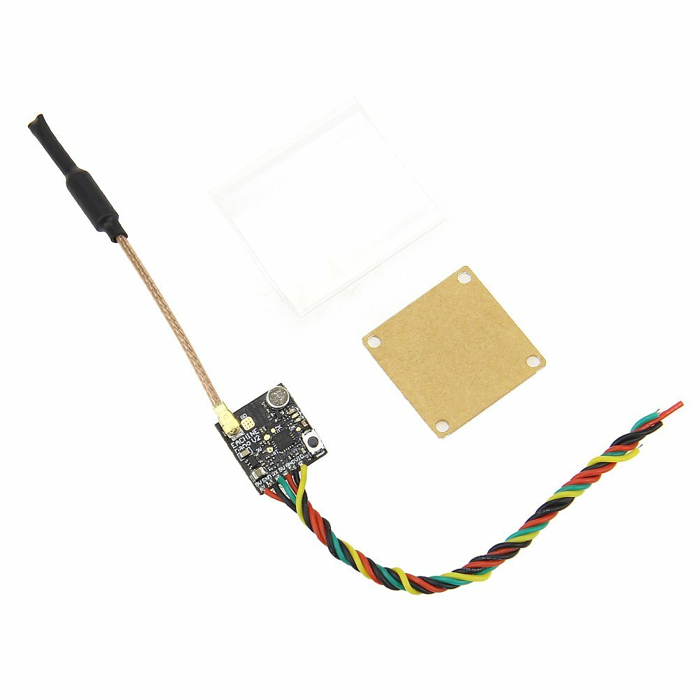 Eachine NANO V2 With Microphone VTX 5.8GHz 48CH 25 or 100 or 200 or 400mW Switchable FPV Transmitter Support OSD or Pitmode or IRC Tramp for RC Drone Tiny whoop