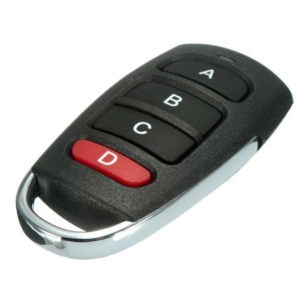 Garage Door Remote >> Universal 4 Buttons Cloning 433mhz Electric Garage Door Remote
