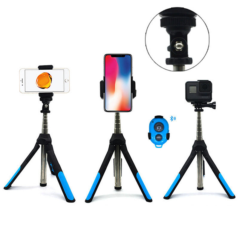 timeless design 42280 00d10 Bakeey Extended Multi-angle bluetooth Tripod Selfie Stick for Iphone X XR  Gopro Camera Live