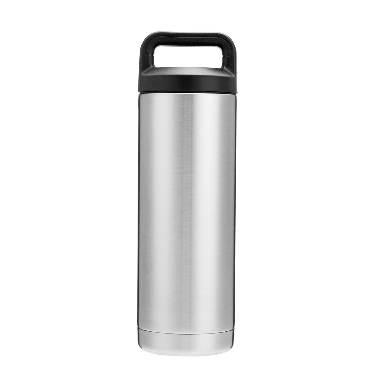 7c7e9259248 18oz 36oz 64oz Stainless Steel Water Bottle Mug Vacuum Flask Double Wall  Insulated Thermos Cooling Beer Cup