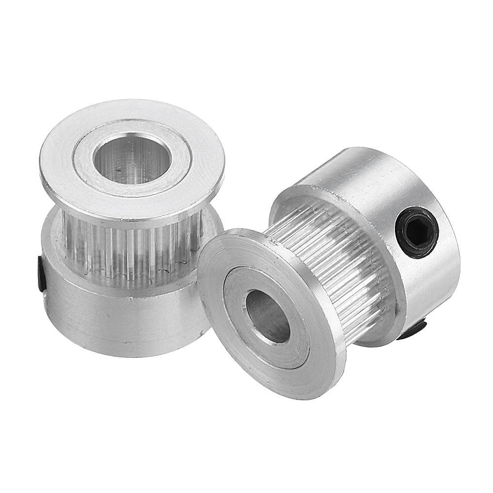 Machifit GT2 توقيت بكرة 20 الأسنان عجلة متزامن القطر الداخلي 5 ملليمتر / 6.35 ملليمتر / 8 ملليمتر ل 6 ملليمتر أجزاء العر