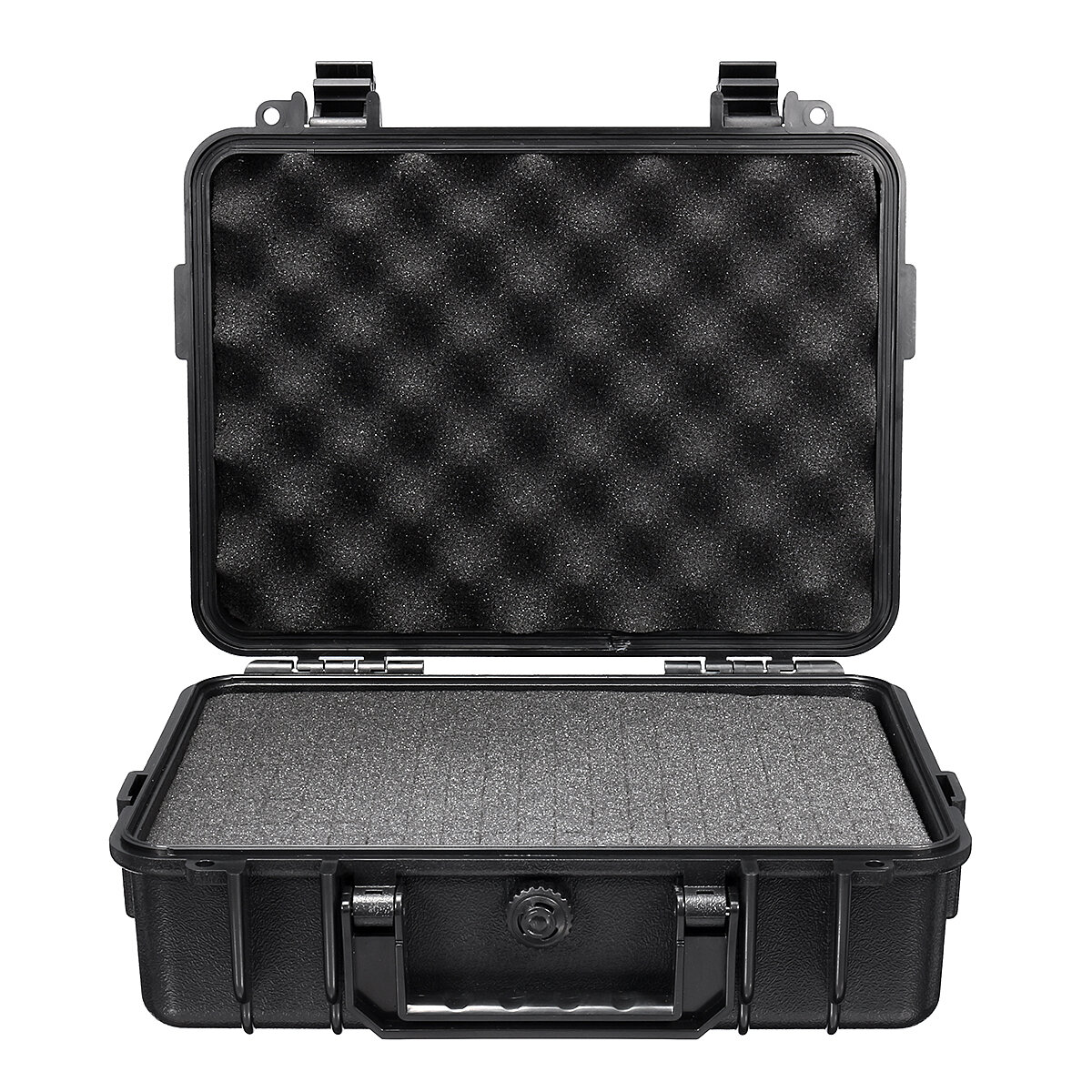 Waterproof Hard Carry Tool Case Bag Storage Box Camera Photography with Sponge 180*120*50mm