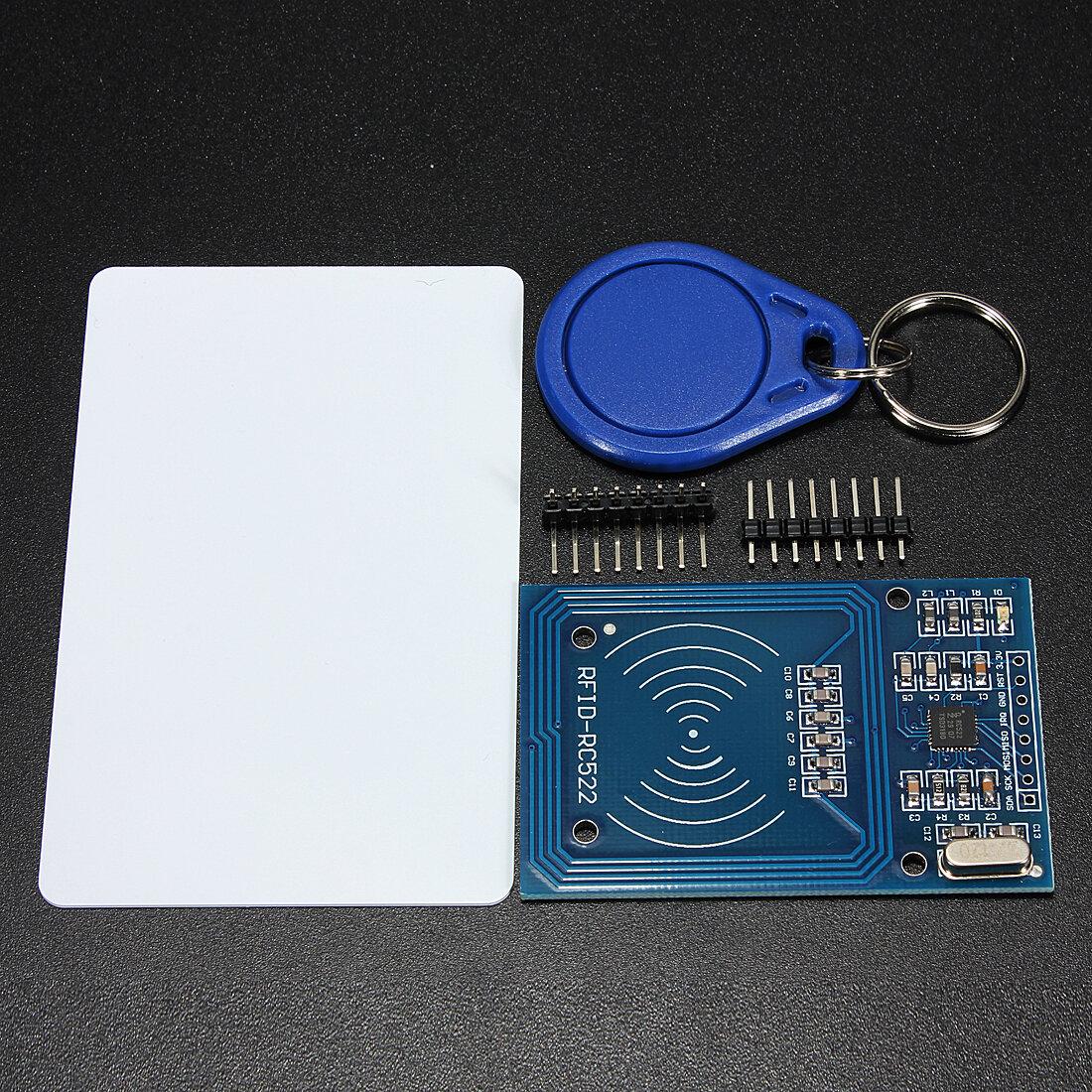 3.3V RC522 Chip IC-kort Induktionsmodul RFID Reader 13.56MHz 10Mbit / s