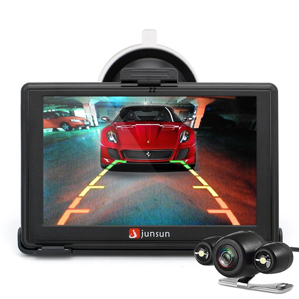 junsun d100s 7 inch car 3d gps navigation mointor bluetooth w ... on