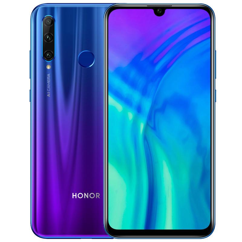 Huawei Honor 20i 6.21 इंच 32MP फ्रंट कैमरा 6GB 256GB किरिन 710 ऑक्टा कोर 4 जी स्मार्टफोन
