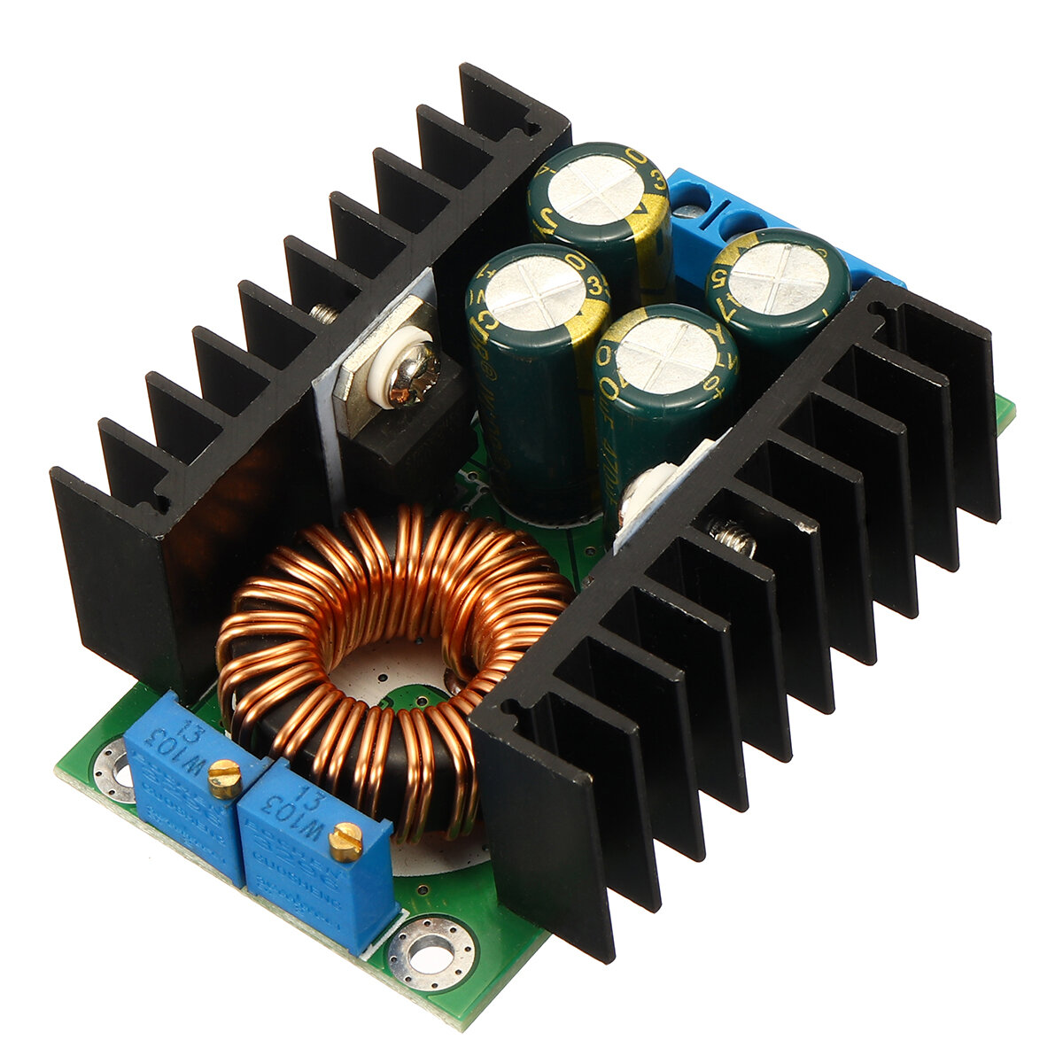 DC-DC CC CV Buck Converter Board Step Down Power Supply Module 7-32V to 0.8-28V 12A