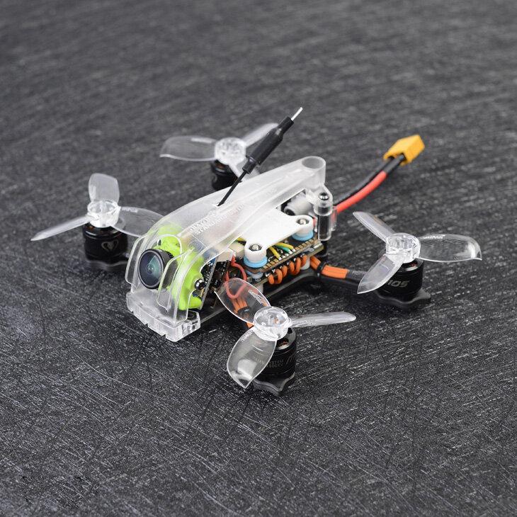 Diatone 2019 GT R249 95mm 2 Inch 4S FPV Racing RC Drone PNP w/ F4 OSD 25A RunCam Micro Swift TX200U